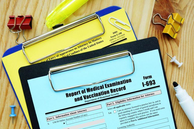 I-693 Form – Immigration Medical Exam – Complete Guide