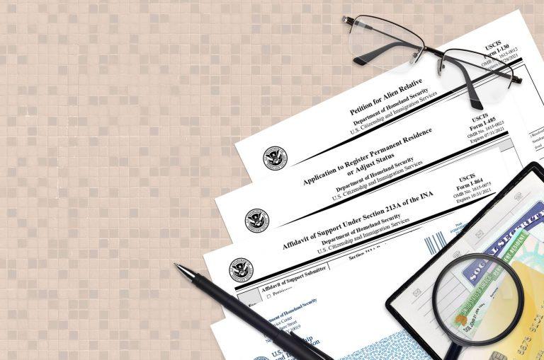 Affidavit of Support Checklist – Form I-864 – Complete Guide