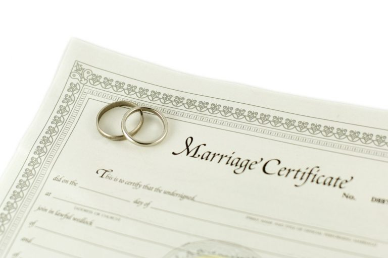 Marriage Green Card Checklist – Both Spouses in the U.S.
