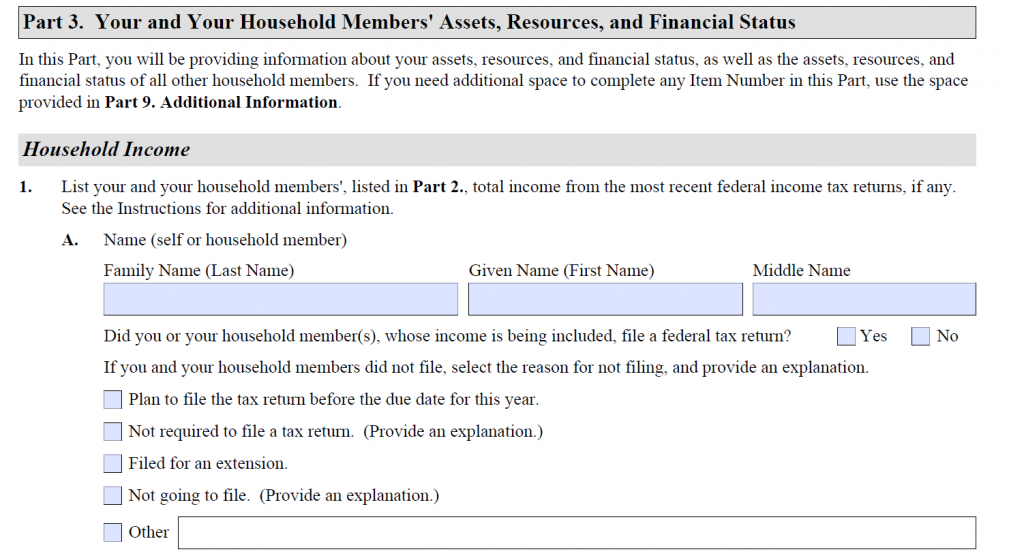 How to Fill Out Form I-944 - Step-By-Step Instructions [2020] 4